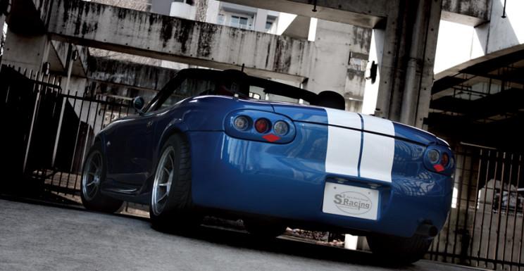 S2 Racing Miata Kit Car rear