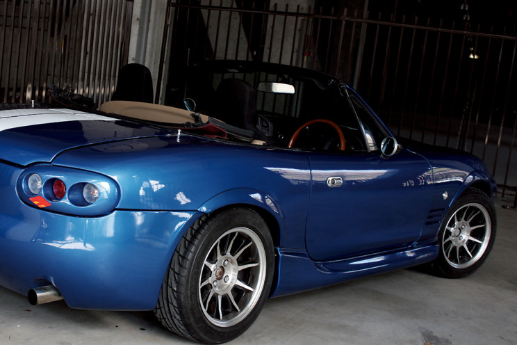S2 Racing Miata Kit Car side